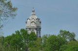 County courthouse cupola