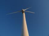 Wind turbine humming along