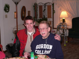 A boy and his grandpa