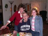 Grandpa, daughter, grand daughter
