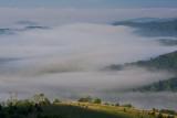 Fog Below Mt. Lake Overlook