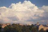 An Evening Thunderstorm Approaching