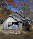 Mabry Mill Front View -Blue Ridge Parkway