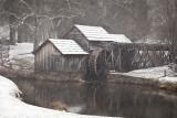 Snowing At Mabry Mill-Blue Ridge Parkway