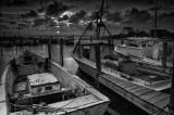 Avon Harbor Sunset: Outer Banks, North Carolina