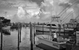 Leaving The Dock, Outer Banks, North Carolina