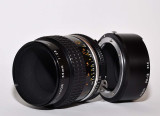 Micro Nikkor 55mm F2.8 with 1:1 extension adapter
