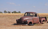 Old truck in Groom Texas