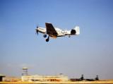 RF-51 taking off at Kimpo Korea