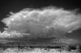 Storm over the Guadalupe Mountainss