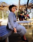 Local girl in Itazuke 1951