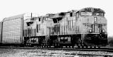 Train near Pumpville Texas