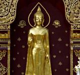 Wat Dokkam, Buddha image facing the street