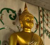Buddha image enrobed
