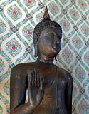 Walking Buddha image of the Sukhothai period