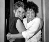 Judy Carne (left) and Jill Corey