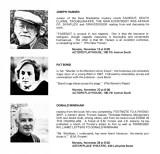 1982 - Three authors on three nights