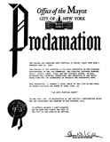 1981 - Mayor proclaims Gay Arts Month