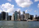 Lower Manhattan, seen from Brooklyn Heights
