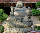 Happy Buddha image