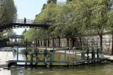 Paris - En bateau sur le canal de l'Ourcq depuis le bassin de la Villette