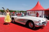 Rétro Festival de Caen 2011 - Rassemblement de véhicules de collection sur l'hippodrome de Caen