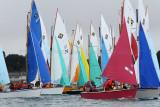 Festival de la Voile de l'Ile aux Moines 2011 dans le golfe du Morbihan