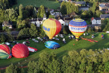 Hottolfiades 2011 - Rassemblement de ballons à Hotton - Hot air balloons meeting in Belgium