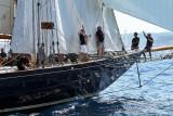 Voiles de Saint-Tropez 2011 - Journée du jeudi à bord de Apsara la vedette de Patrick