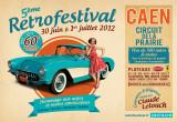 Affiche du Rétro Festival de Caen 2012