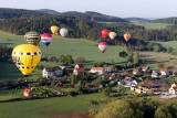 A week in Czech Republic : balloons flights in Bohemia - Saturday morning flight