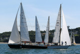 Fêtes maritimes de Douarnenez 2012 - Préparatifs et départ de la ''Panerai Transat Classique 2012''
