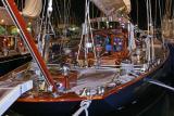 Voiles de Saint-Tropez 2005 -  Voiliers de tradition photographiés de nuit