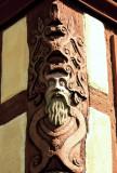 13 Kaysersberg  - poutre sculptée