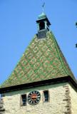19 Visite de la ville d'Obernai - détail du clocher