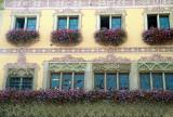 20 Visite de la ville d'Obernai - détail d'une maison