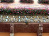 194 Visite de la ville d'Obernai - détail d'une maison