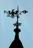 198 Visite de la ville d'Obernai - détail du clocher