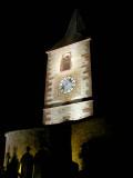 210 Unawihr l'église fortifiée de nuit