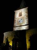 211 Unawihr l'église fortifiée de nuit