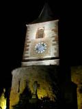 212 Unawihr l'église fortifiée de nuit