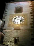 215 Unawihr l'église fortifiée de nuit