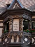 220 Découverte du village de Ribeauvillé -  détail d'une orielle