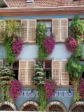 221 Découverte du village de Ribeauvillé - détail d'une maison