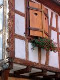 223 Découverte du village de Ribeauvillé - détail d'une maison