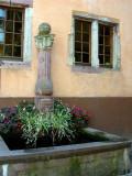 228 Découverte du village de Ribeauvillé - fontaine