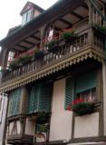 266 Dans le village de Ribeauvillé