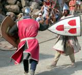 335 Château de Hohlandsburg - combat médiéval