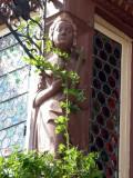 358 Village de Turckheim - poutre décorée
