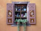 391 Riquewihr-  fenêtre décorée